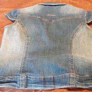 Juniors Medium DKNY Jean's vest